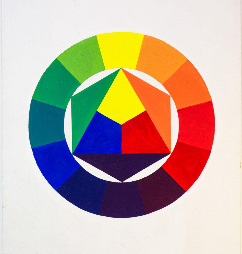 Zwölfteiliger Farbkreis
